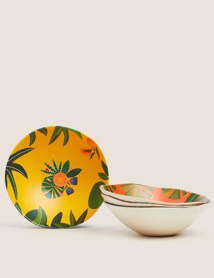 Set of 4 Jungle Cereal Bowls
