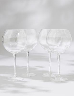 Set of 4 Picnic Gin Glasses