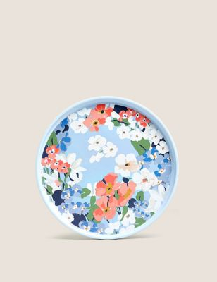 Set of 4 Joules Floral Picnic Side Plates