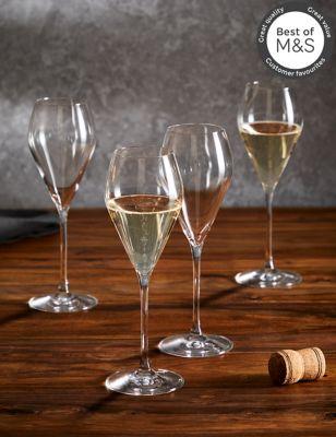 Set of 4 Maxim Prosecco Glasses