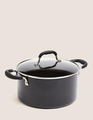 Aluminium 24cm Medium Non-Stick Stock Pot