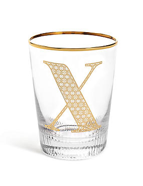 Alphabet X Glass, , catlanding
