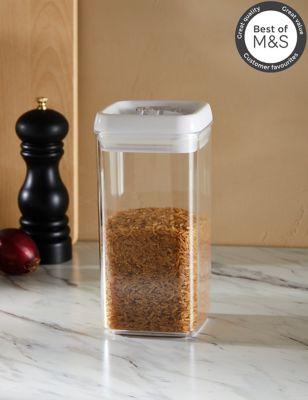 1.2L Rectangular Flip-Tight Food Storage