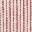 Set of 2 Pure Cotton Striped Napkins - redmix