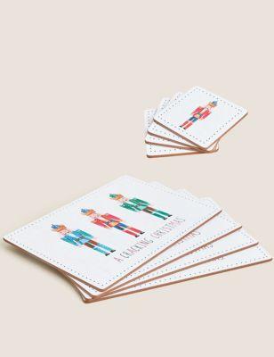 Set of 8 Nutcracker Placemats & Coasters