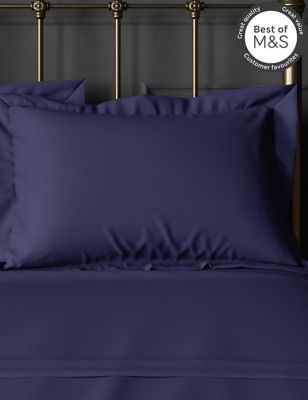 2 Pack Egyptian Cotton 230 Thread Count Oxford Pillowcases