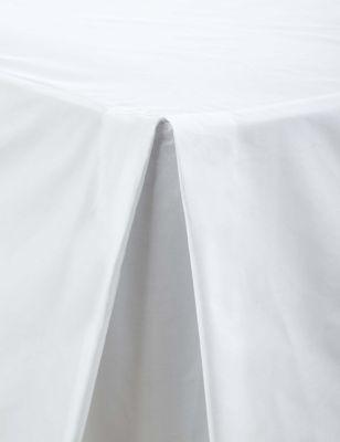 Cotton Rich Percale Valance Sheet