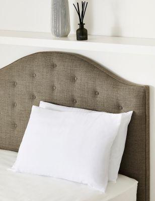 2 Pack Microfibre Medium Pillows