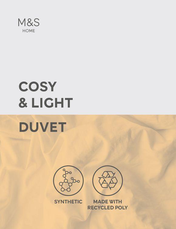 P60440465: Cosy & Light 10.5 Tog Duvet