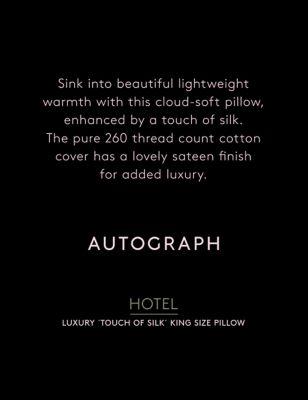Touch of Silk Medium Kingsize Pillow
