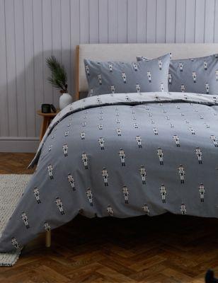 Brushed Cotton Nutcracker Bedding Set