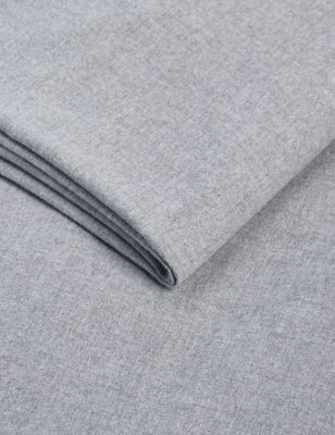 Pure Cotton Brushed Deep Fitted Sheet