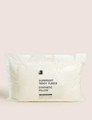 Teddy Fleece Medium Pillow