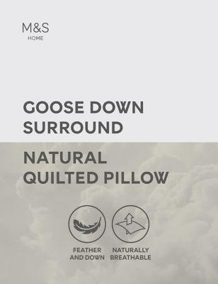 Goose Down Medium Surround Pillow