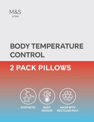 2 Pack Body Sensor™ Firm Pillows