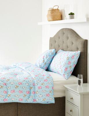 Percy Pig™ 10.5 Tog Coverless Duvet & Pillowcase