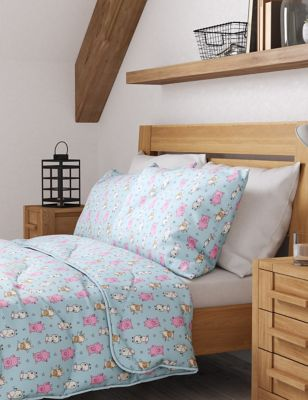 Percy Pig™ 4.5 Tog Coverless Duvet & Pillowcase