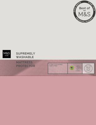 Supremely Washable Mattress Protector