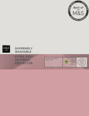 Supremely Washable Extra Deep Mattress Protector