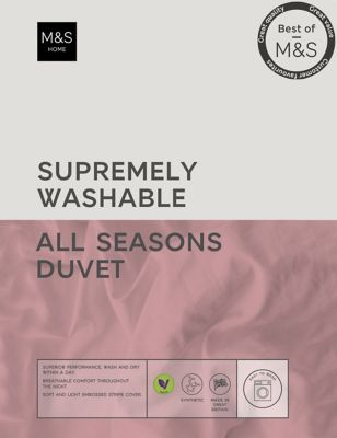Supremely Washable 13.5 Tog All Season Duvet