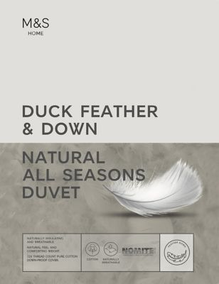 Duck Feather & Down 13.5 Tog All Season Duvet
