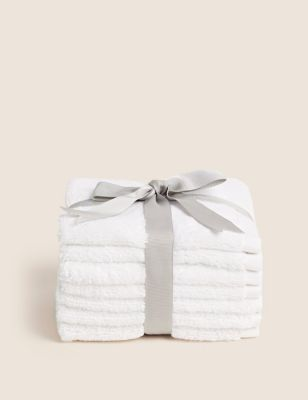 7 Pack Face Cloth Towels