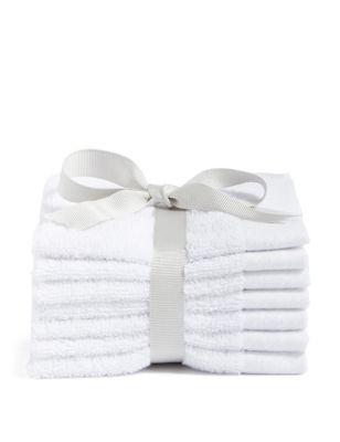 Set of 7 Pure Cotton Face Cloths