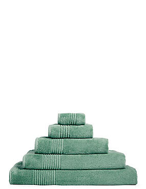 Luxury Egyptian Cotton Towel, DUSTY GREEN, catlanding