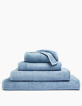 Luxury Egyptian Cotton Towel, DENIM, catlanding