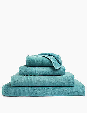 Luxury Egyptian Cotton Towel, OCEAN, catlanding