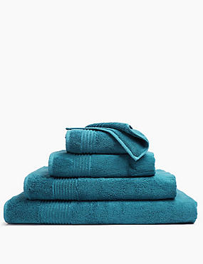 Luxury Egyptian Cotton Towel, TEAL, catlanding
