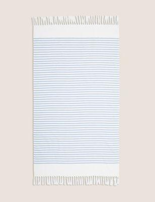 Cotton Mix Striped Hammam Beach Towel