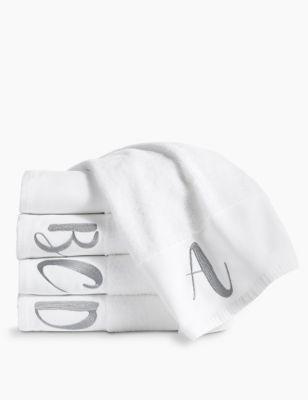 Pure Cotton Alphabet Towel