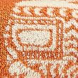 Priya Pure Cotton Elephant Towel - terracotta