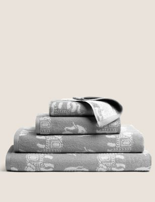 Priya Pure Cotton Elephant Towel