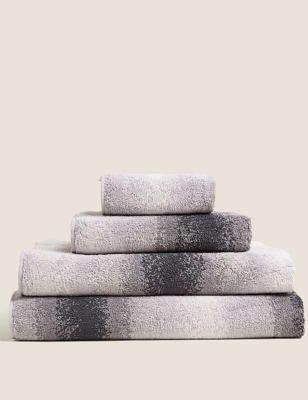 Pure Cotton Ombre Luxury Design Towel