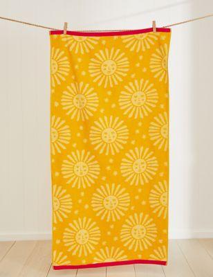 Pure Cotton Sun Beach Towel