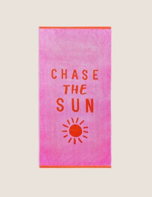 Pure Cotton Chase The Sun Beach Towel