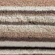 Pure Cotton Striped Towel - naturalmix