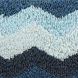 Pure Cotton Zig Zag Towel - bluemix