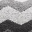Pure Cotton Zig Zag Towel - greymix
