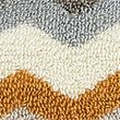Pure Cotton Zig Zag Towel - naturalmix