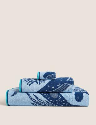 Pure Cotton Under The Sea Towel