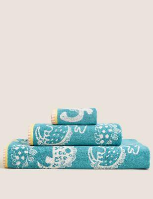 Pure Cotton Dinosaur Towel