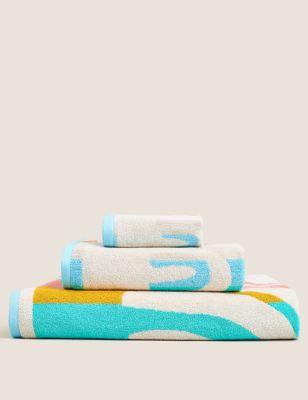 Pure Cotton Rainbow Kids Bath Towel