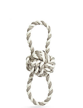 Dog Toy Rope Ring, , catlanding