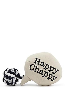 Speech Bubble Happy Chappy, , catlanding
