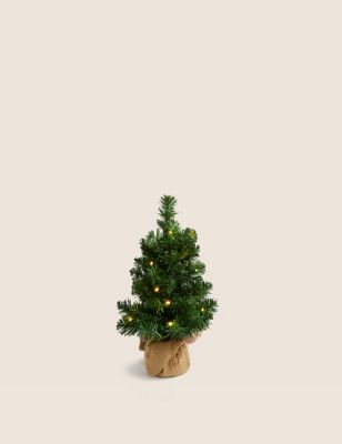 1.5ft Pre-Lit Christmas Tree