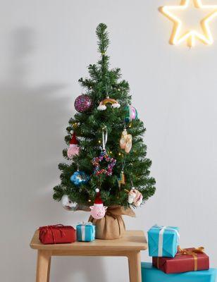 3ft Pre-lit Tree