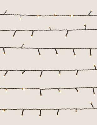 300 Warm White Mains Lights